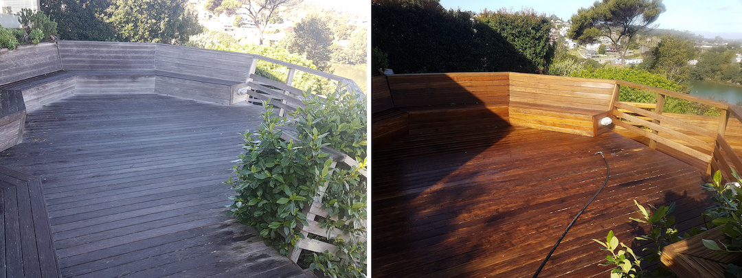 Deck Washing- Deck Cleaning