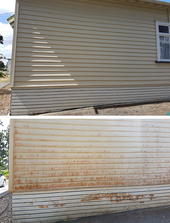 Pre Paint Cleaning Before & After
